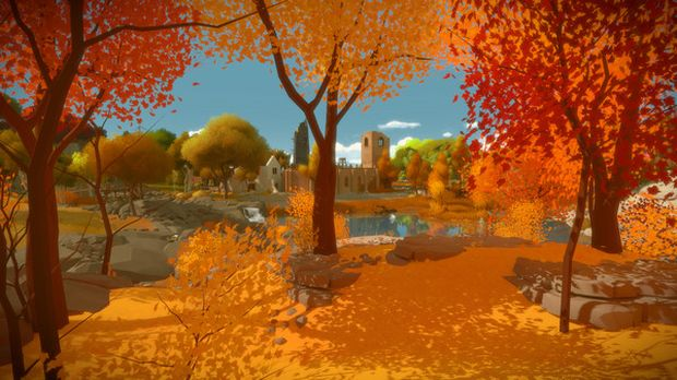 The Witness screenshot of some lovely enviroments