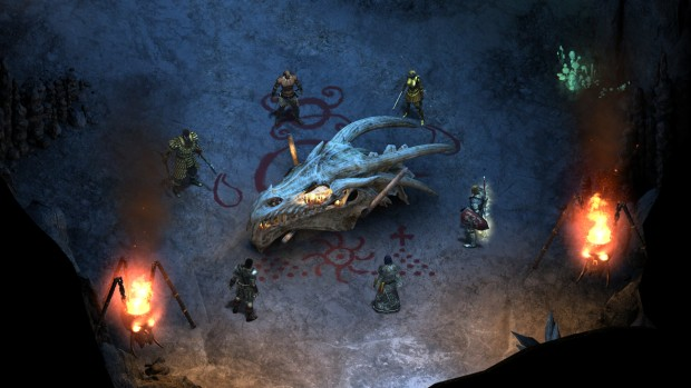 Pillars of Eternity screenshot of dragon cultists