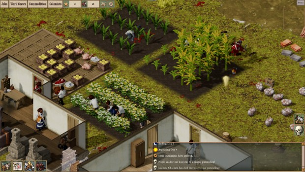 Clockwork Empires farm screenshot