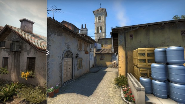 CS:GO B point changes on Inferno