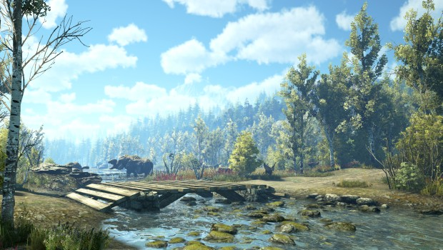 Dark and Light MMO screenshot showcasing some lovely scenery