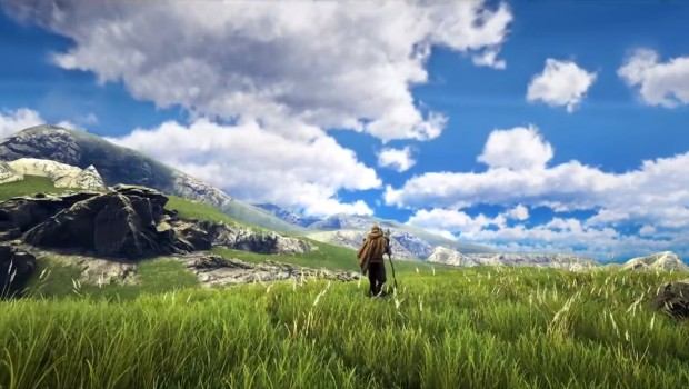 Dark and Light MMO screenshot showcasing a large, open world