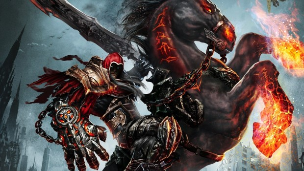 Darksiders: Warmastered Edition official artwork staring the Horseman of War