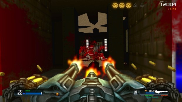 Doom 4 Doom mod showcasing Doom 4's chaingun