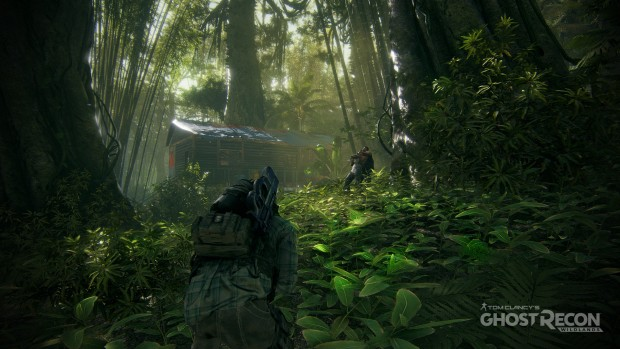 Ghost Recon Wildlands gameplay screenshot of a jungle