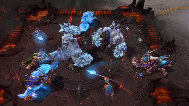 Heroes of the Storm weekly brawl featuring plenty of ice
