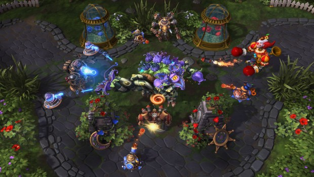 Heroes of the Storm weekly brawl featuring a boss fight