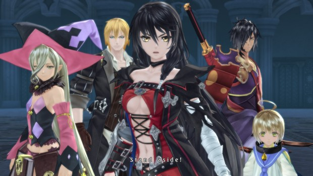 Tales of Berseria characters standing together
