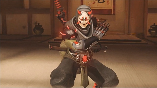 Oni Genji skin from Overwatch