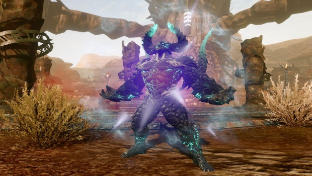 ArcheAge Revelation expansion screenshot showcasing the Warborn race