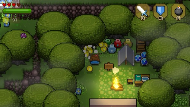 Blossom Tales follows Zelda's example when it comes to pottery and money