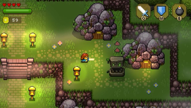 Blossom Tales haunted forest screenshot