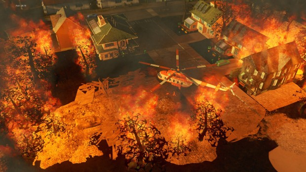 Cities: Skylines DLC Natural Disasters is bringing with it massive firestorms