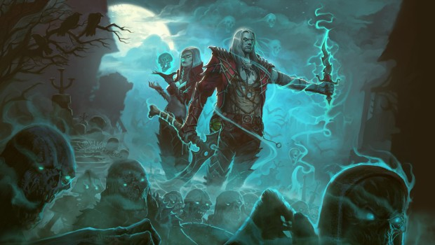 Diablo 3's Necromancer artwork