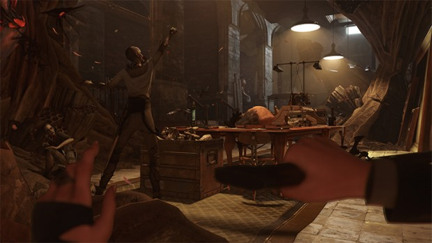 Dishonored 2 screenshot showcasing one of the Witches