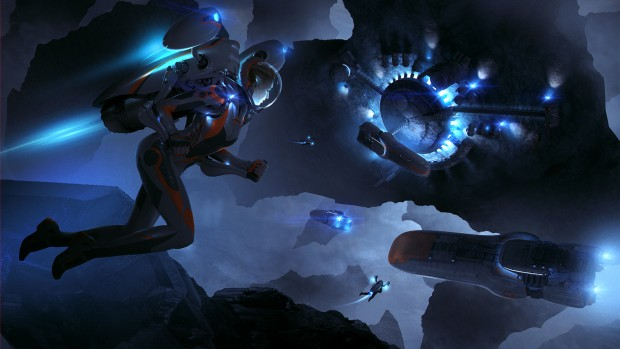 Endless Space 2 artwork showing off a pilgrim