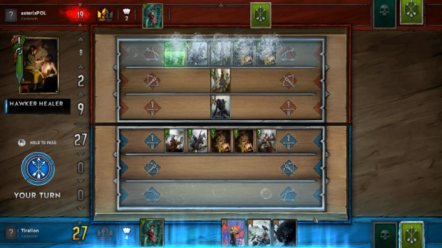 Gwent's Scoia'thael deck features some random elements