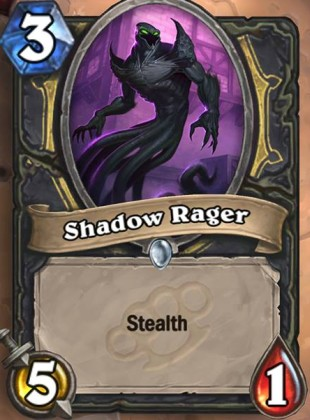 Hearthstone's upcoming card, or rather meme, Shadow Rager