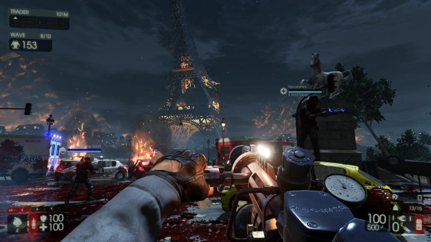 Killing Floor 2's burning Paris map