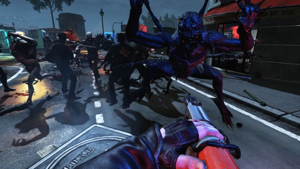Killing Floor 2 Crawler enemy attacking the player