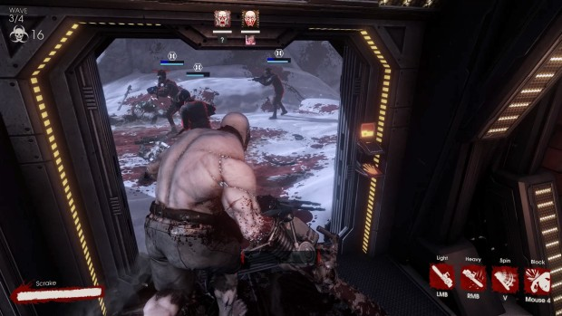 Killing Floor 2 multiplayer using a Skrake