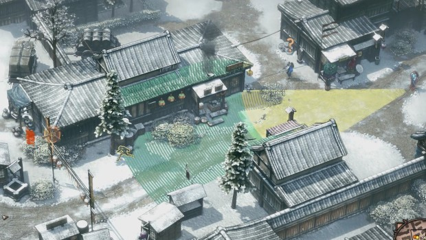 Shadow Tactics has a couple of problems with enemy AI