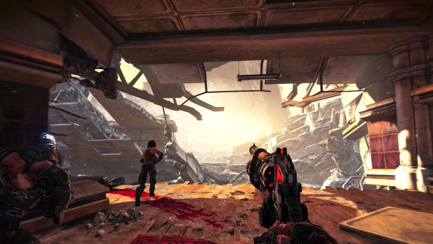 Bulletstorm: Full Clip Edition screenshot showing off the new visuals