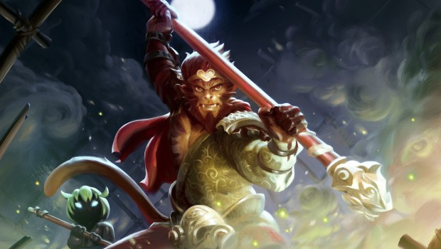 Dota 2's Monkey King artwork for Patch 7.00