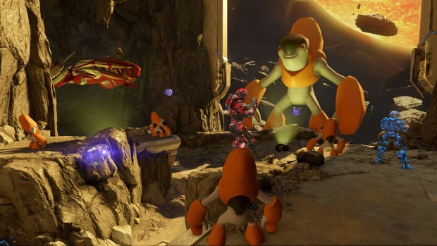 Halo 5: Forge Custom Game on the PC with a rather ridiculous premise