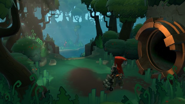 Hob screenshot featuring the main character