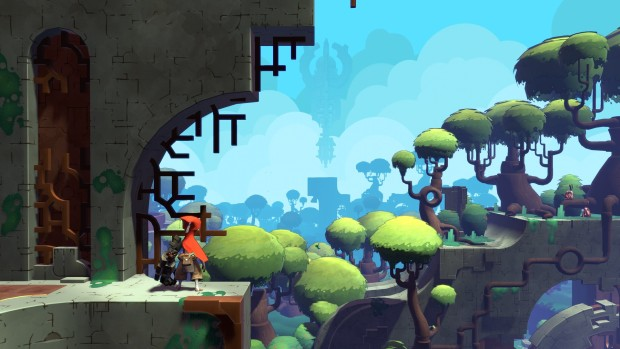 Hob screenshot showing off some colorful and lovely scenery