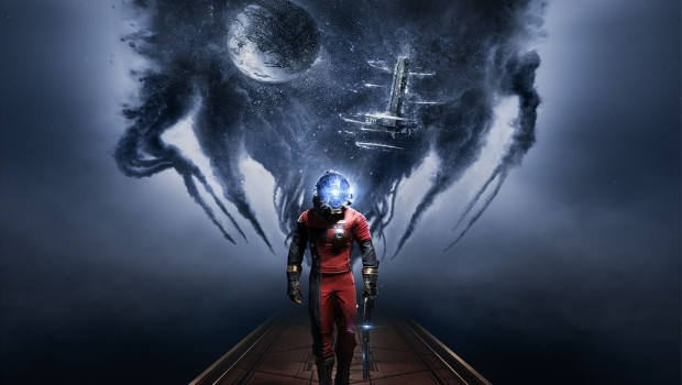 The official artwork for the upcoming Prey game