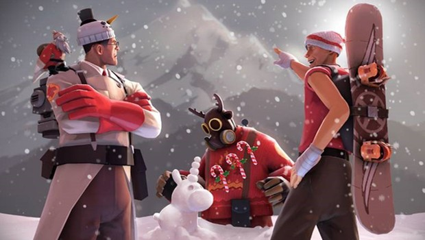 Team Fortress 2's Smissmas official artwork