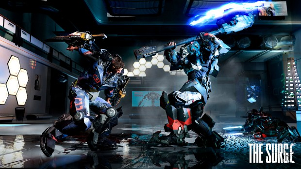 The Surge gameplay screenshot featuring an intense duel