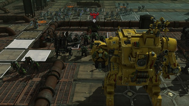 Warhammer 40k: Sanctus Reach Orks fighting against the Space Wolves