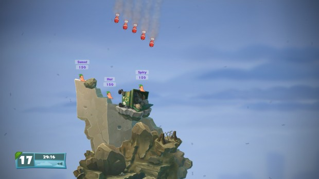 Worms W.M.D allows you to destroy your own team with airstrikes
