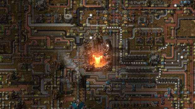 Factorio is a great indie building and management sim