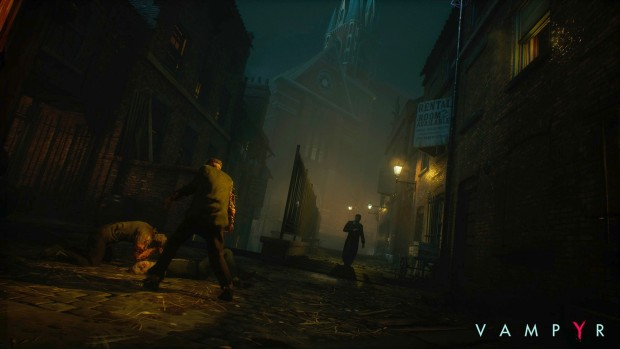 Gameplay footage from the upcoming Vampyr RPG