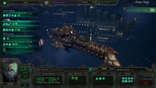 Battlefleet Gothic Armada has some lovely ships