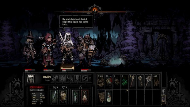 Darkest Dungeon has some bizarre curios