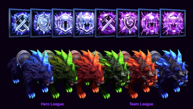 Heroes of the Storm pre-season mount rewards