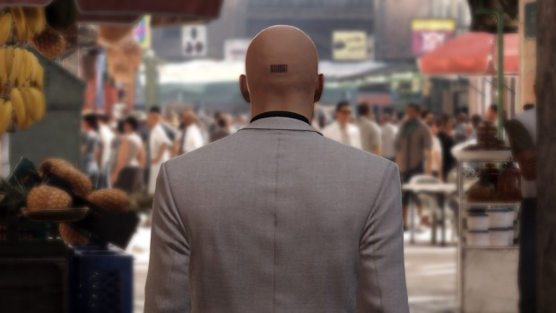 Hitman screenshot from the Marakesh level