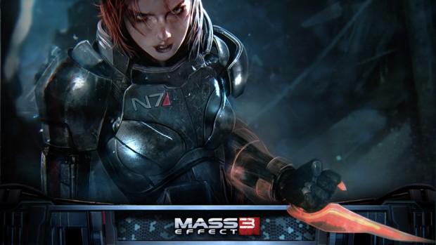 Mass Effect 3 official artwork