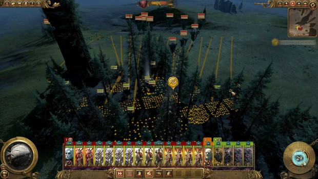 Total War: Warhammer let's you ambush enemies from the forest