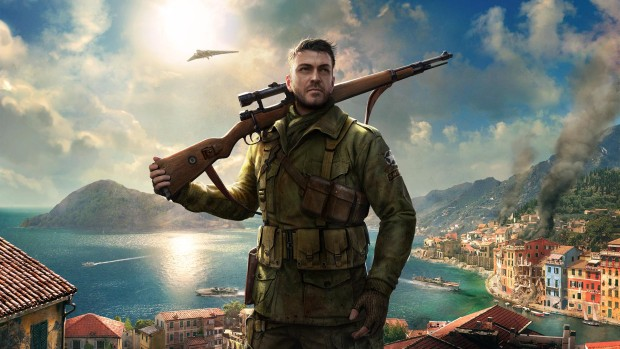 Sniper Elite 4's official artwork