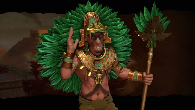 Montezuma from Civilization 6