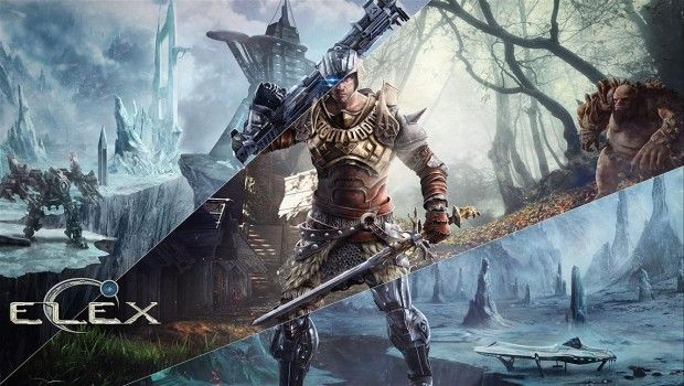 Official artwork for the ELEX action RPG