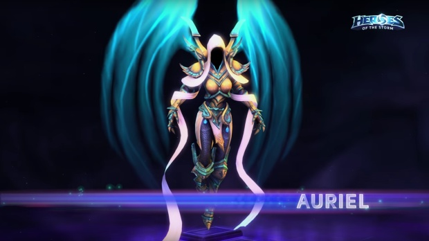 Auriel from Heroes of the Storm