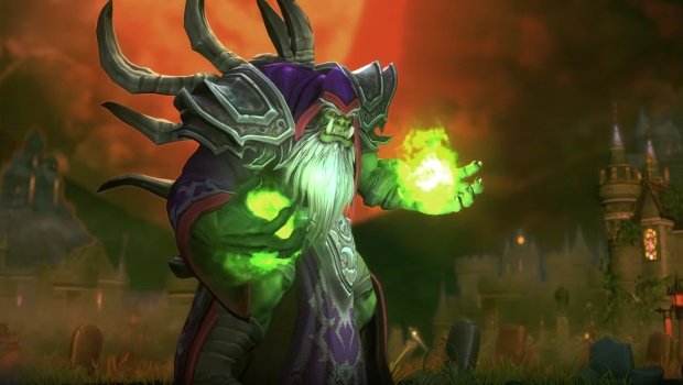 Gul'dan from Heroes of the Storm