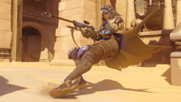 Overwatch's Ana, a support orientated sniper